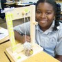 Valley Christian Academy Photo #3 - One of our students sharing their 4th grade Simple Machine Project.