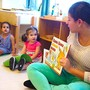 Battery Park Montessori Photo #2 - Starting in our 2s program, we emphasize early literacy, sharing award-winning children's books in English, Mandarin and Spanish.