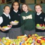 St. Mary Magdalen School Photo #2 - St. Mary Magdalen students assemble and deliver fruit baskets to families and friends that are homebound during the Thanksgiving season.