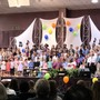 Harvest Community School Photo - Lower School performing at our October Community Fellowship
