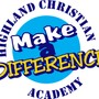 Highland Christian Academy Photo - Make a Difference in the life of a child - support Highland Christian Academy.