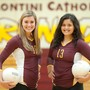 Montini Catholic High School Photo #3 - Girls Volleyball Captains