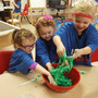 St. John Lutheran Early Learning Center Photo #8 - Preschoolers learn best when they use their ears, eyes, and hands.