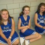 St. Johns Lutheran School Photo - The St. John's cheerleaders are taking a break.